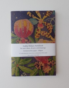 Gabby Malpas Sri lanka Dreaming notebooks for artists