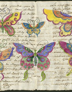 pantomime butterflies Archival print limited edition of 10