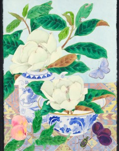 magnolia grandiflora Archival limited edition print by Gabby Malpas