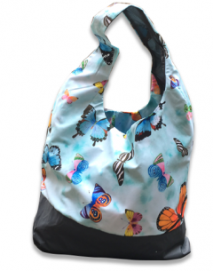 Carry All tote bag featuring Gabby Malpas butterfly pattern by PACMAT UK