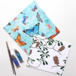 envelope gift wrapping for scarves