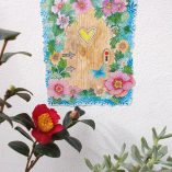 Fairy door removable wall sticker by gabby malpas