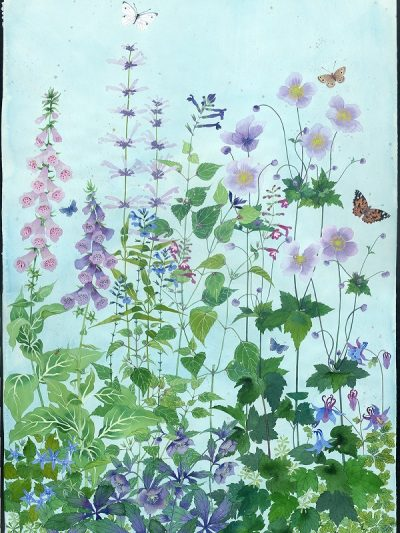 Limited edition print on archival paper: Sarah's garden 14