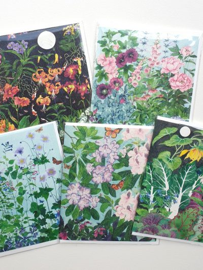 Gabby Malpas: Fine Art blank greeting cards - pack of 5