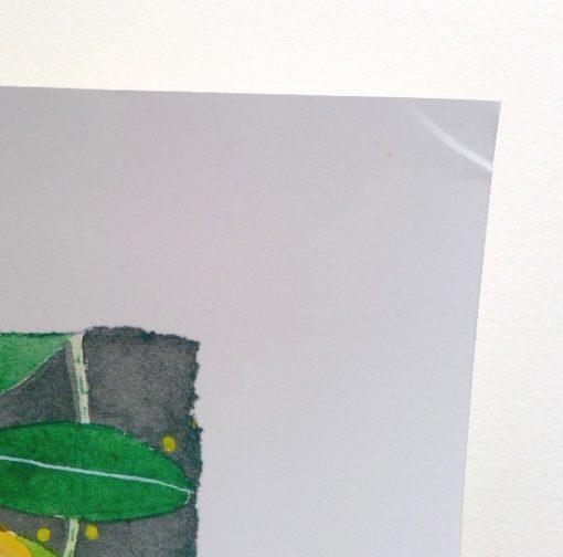 Archival limited edition print: Garden of Eden: 42cm x 45cm size print