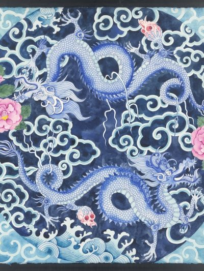 Limited edition print on archival paper: Chasing the dragon