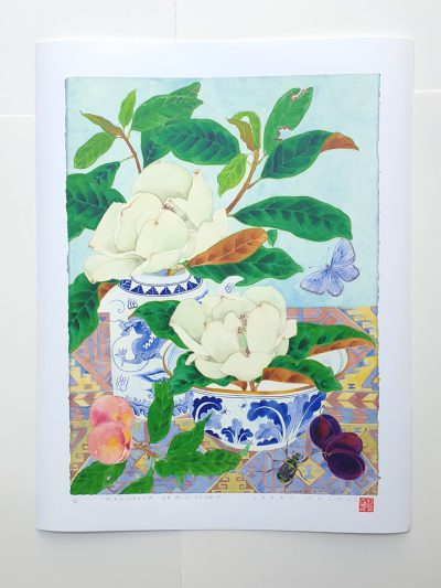 Archival print: Magnolia grandiflora 42 x 56.5cm