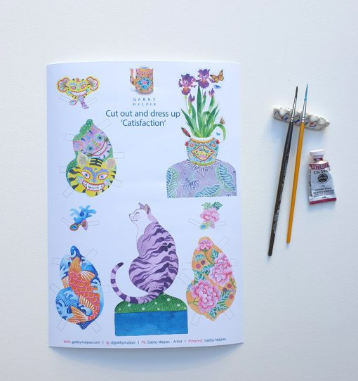 catisfaction complete sheet A4 size