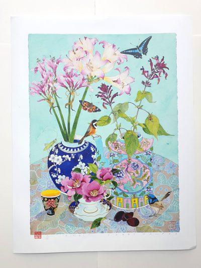 Archival print: pink! 42cm x 56.5cm